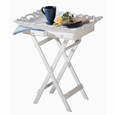Shabby Chic Tray Table I